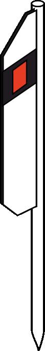 столбик металл
